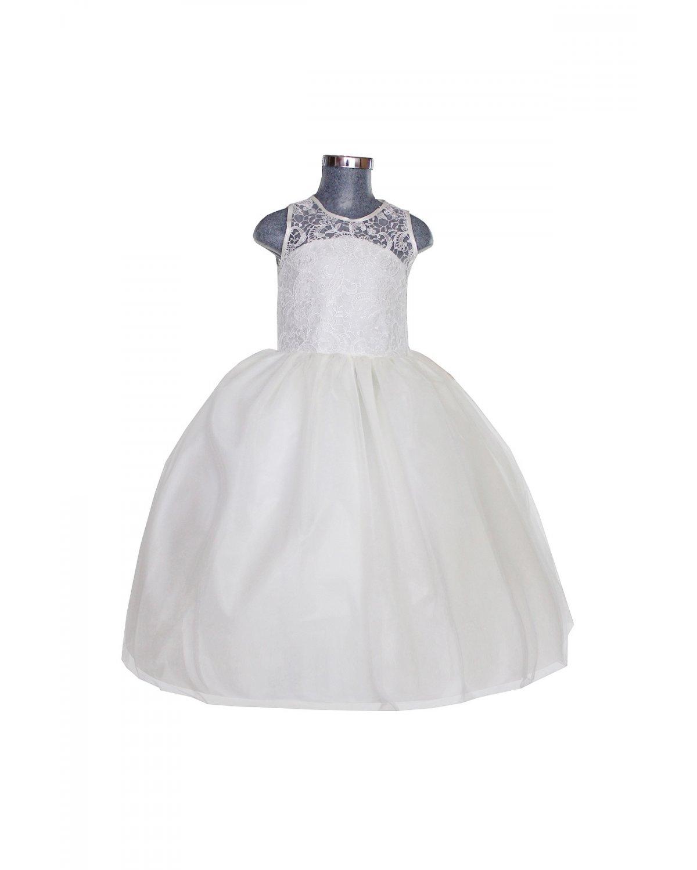 Vestido de niña Modelo Yulissa Sin Fajo
