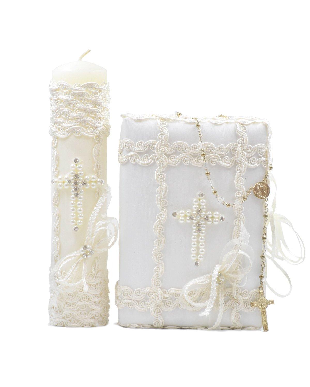 Kit de Primera Comunión Modelo Cruz de perlas