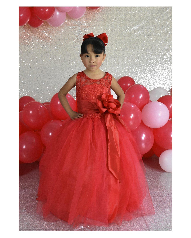 Vestido de niña Modelo Yulissa