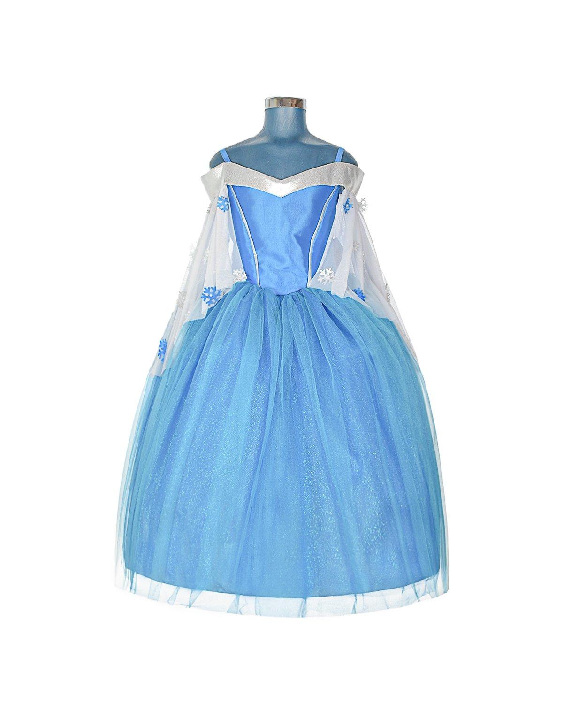 Princess Blue Model Girl Dress