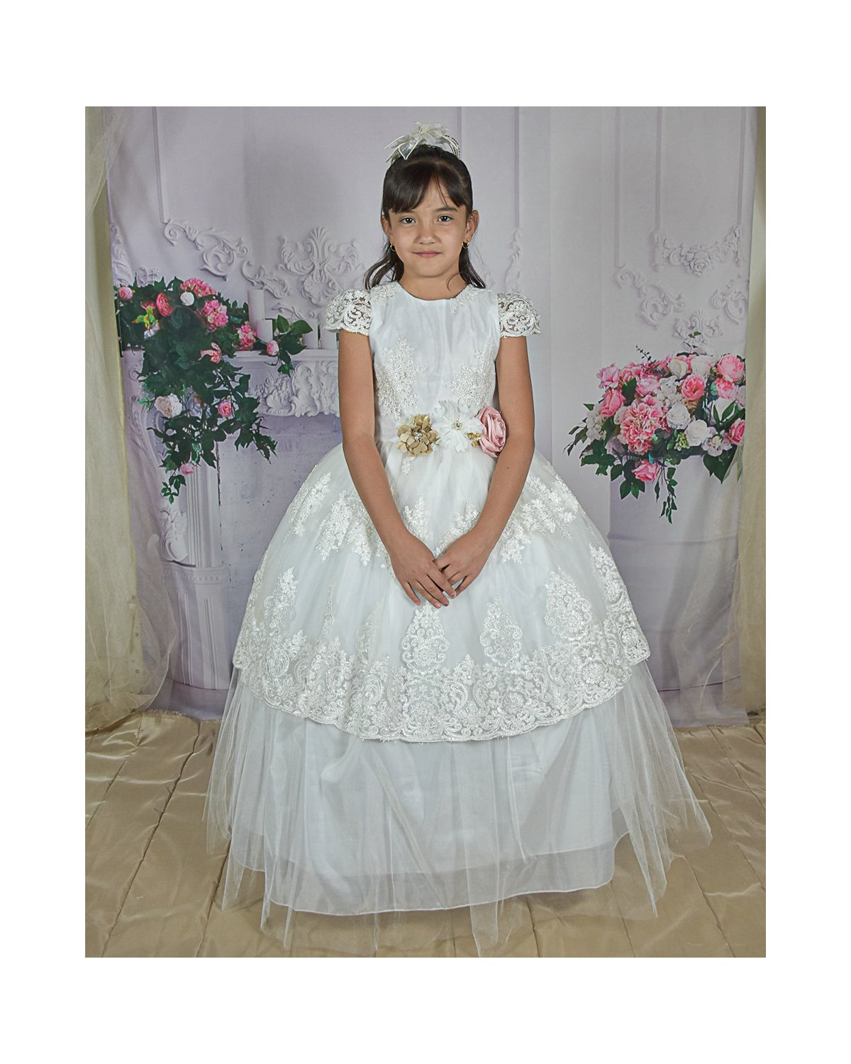 copy of First Communion Dress Model Rosy