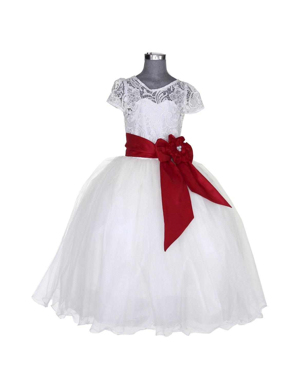 Vestido de Niña Modelo Sasha Fajo de color